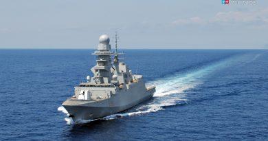 La Fregata Rizzo nel Golfo di Guinea per il contrasto alla pirateria