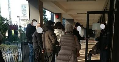 INPS Caserta, Segnalazione cittadino: anziani lasciati in lunghe file