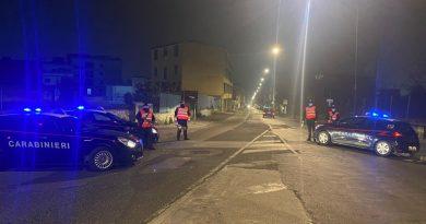 Controlli dei Carabinieri a Marianella, Piscinola e Chiaiano