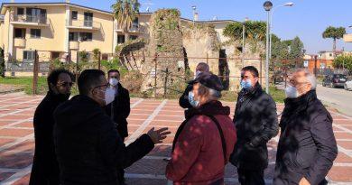 (FOTO) Capodrise. Sopralluogo tecnico alla chiesetta di San Donato