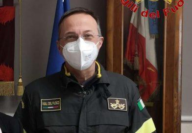 Vigili Fuoco, il Generale Ing. Inzerillo lascia il comando di Caserta