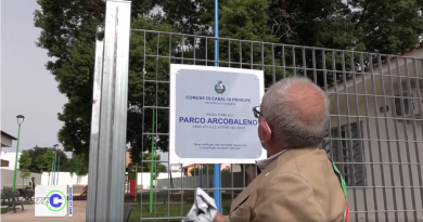 """(VIDEO) Casal di Principe. Inaugurazione del nuovo parco """"Arcobaleno"""""""