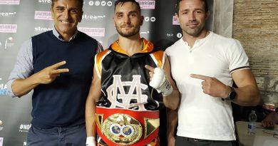 Boxe. Mirko Geografo conquista la cintura IBF Latino Pesi Welter