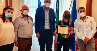 La Capitana della Nazionale di sitting volley Alessandra Vitale torna a San Giorgio a Cremano